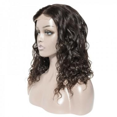 Premium Donor Brazilian Natural Wave 4*4 Lace Closure Wig 180% Density