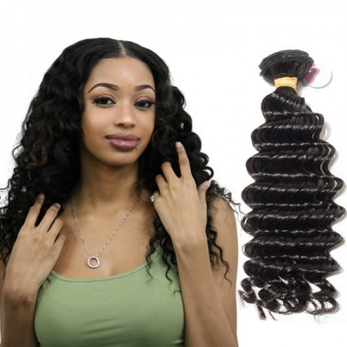 Best Premium Donor Virgin Hair Top Quality Brazilian Human Virgin Hair Weave Deep Wave Bundle