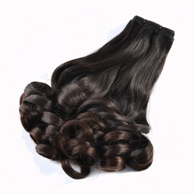 Premium Donor Virgin Hair Top Quality Malaysian Funmi Hair Bundle Romance Curl