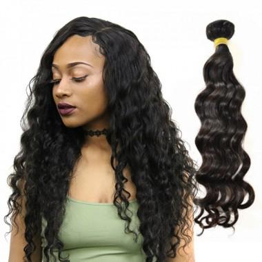 1 Bundle Malaysian Loose Deep Unprocessed Human Virgin Hair Bundle Cuticle Aligned Hair Weaving