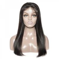 Top Quality Brazilian Virgin Hair 5*5 Straight Lace Closure Wig 180% Density