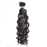 Indian Natural Wave Human Virgin Hair Bundle 100% Unprocessed Human Hair Weave Cuticle Aligned
