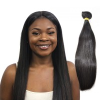 Indian Virgin Straight Hair Bundle 100% Real Straight Human Hair Weaving