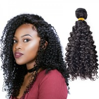Mongolian Virgin Human Hair Kinky Curly Tight Wave Bundle New Star Unprocessed Human Virgin Hair Weft