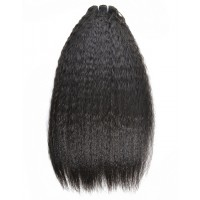 Premium Donor Virgin Hair Top Quality Mongolian Kinky Straight Virgin Hair Bundle