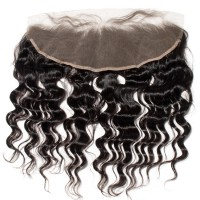 Premium Donor Virgin Hair Top Quality 13*4 Loose Deep Wave Free Part Lace Frontal