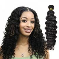 Peruvian Deep Wave Donor Bundle Top Quality Unprocessed Human Virgin Hair Weaving Cuticle Aligned
