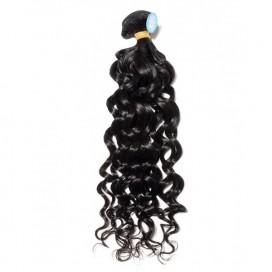 Premium Donor Brazilian Natural Wave Virgin Hair 1 Bundle 100% Unprocessed Raw Human Hair Weft