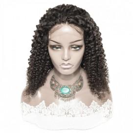 Premium Donor Brazilian Deep Curl Virgin Hair 5*5 HD Lace Closure Wig 180% Density