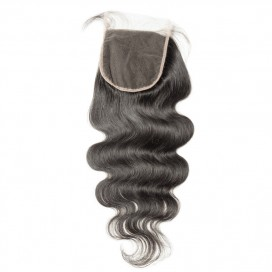 Premium Donor Virgin Hair Top Quality 5*5 Body Wave HD Lace Closure