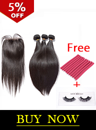 Premium Donor Brazilian Straight 3 Bundles with Free Part Closure