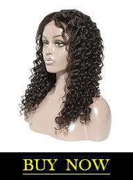 Premium Custom Made Brazilian Virgin Hair Deep Wave Lace Front Wig