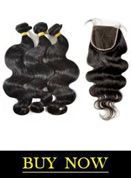 Brazilian Virgin Hair Body Wave 3 Bundles with HD Lace Closure