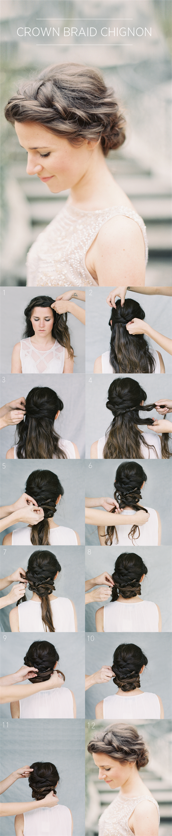 Try Elegant Updo Hairstyles with Hair Extensions in Weddings | New ...
