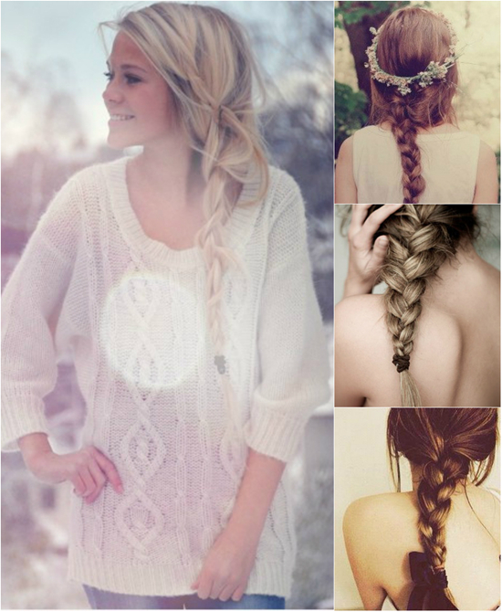 Clip-in Hair Extensions for Braid