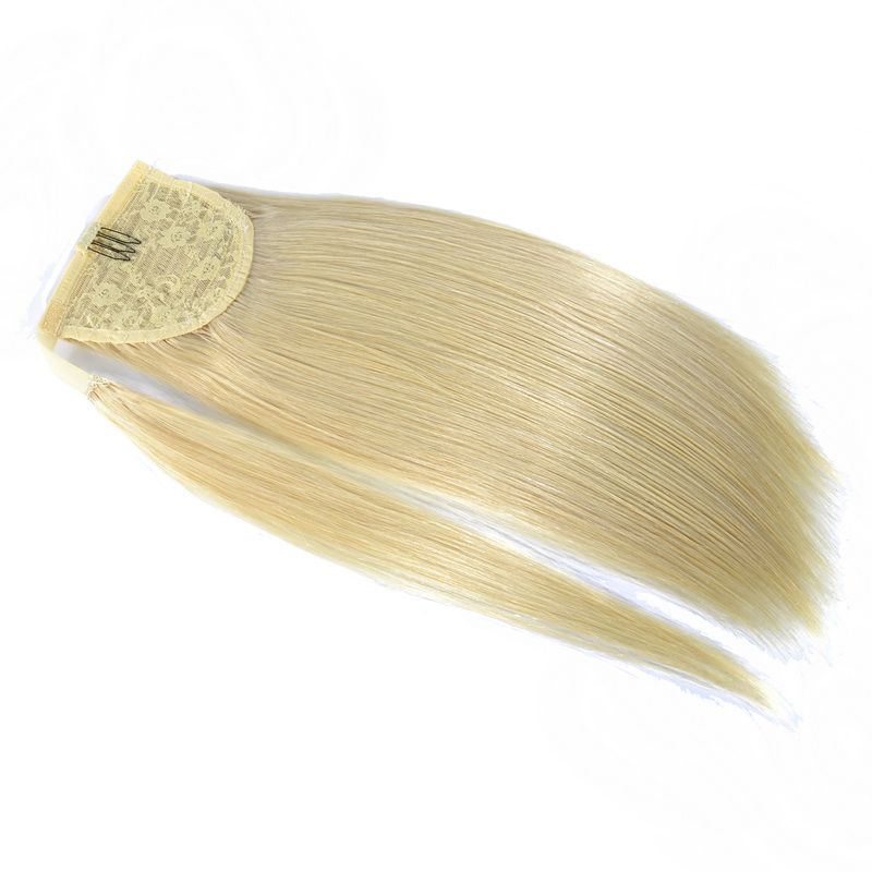 613 Blonde Ponytail Straight Extensions