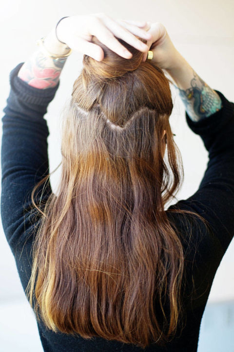 How To Install Clip In Hair Extensions New Star Hair Blog New