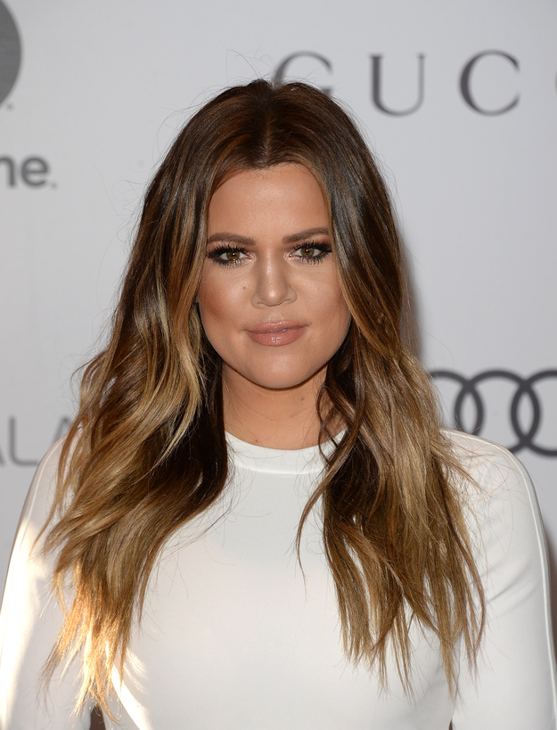 how to get khloe kardashian ombre hair color