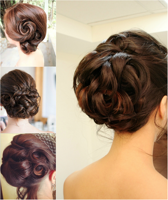 Five popular updos for wedding new star hair blog twisted updo junglespirit Images