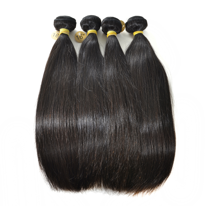 Brazilian Straight Hair 4 Bundles