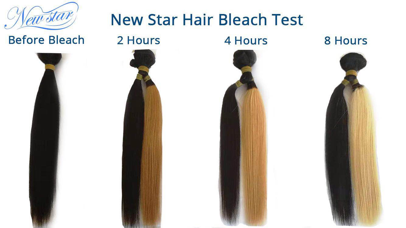 New Star Hair Bleach Test